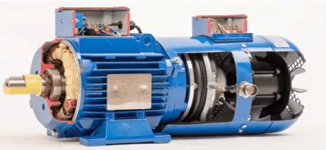 elektromotor s brzdou