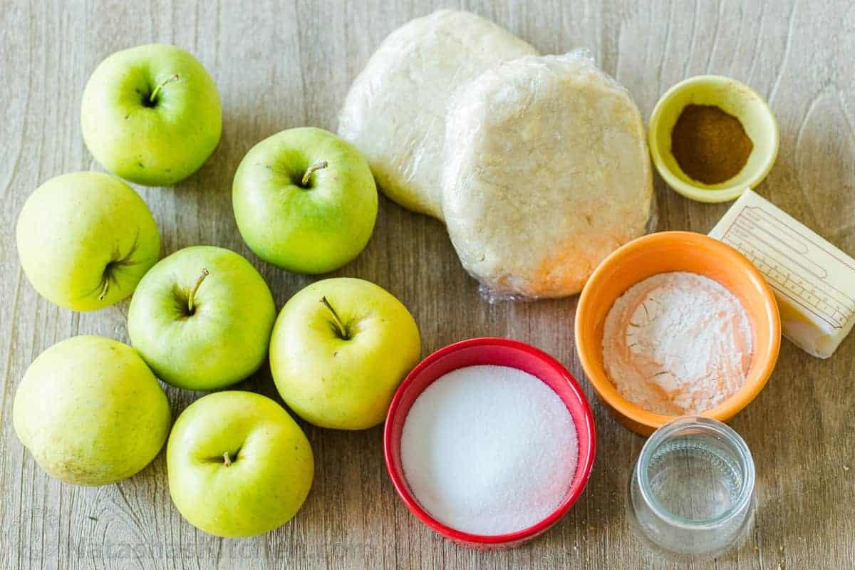 jablkovy kolac obrateny