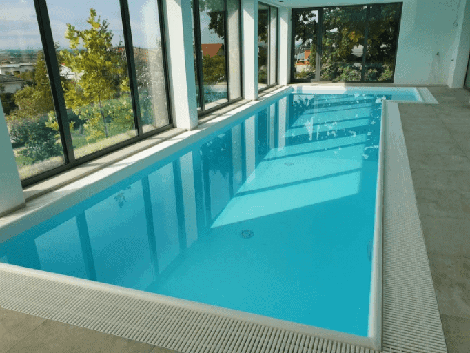 rodinný fóliový bazén