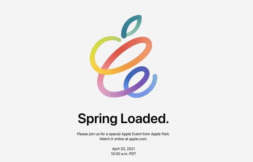 Spoločnosť Apple oficiálne oznámila udalosť Spring Loaded